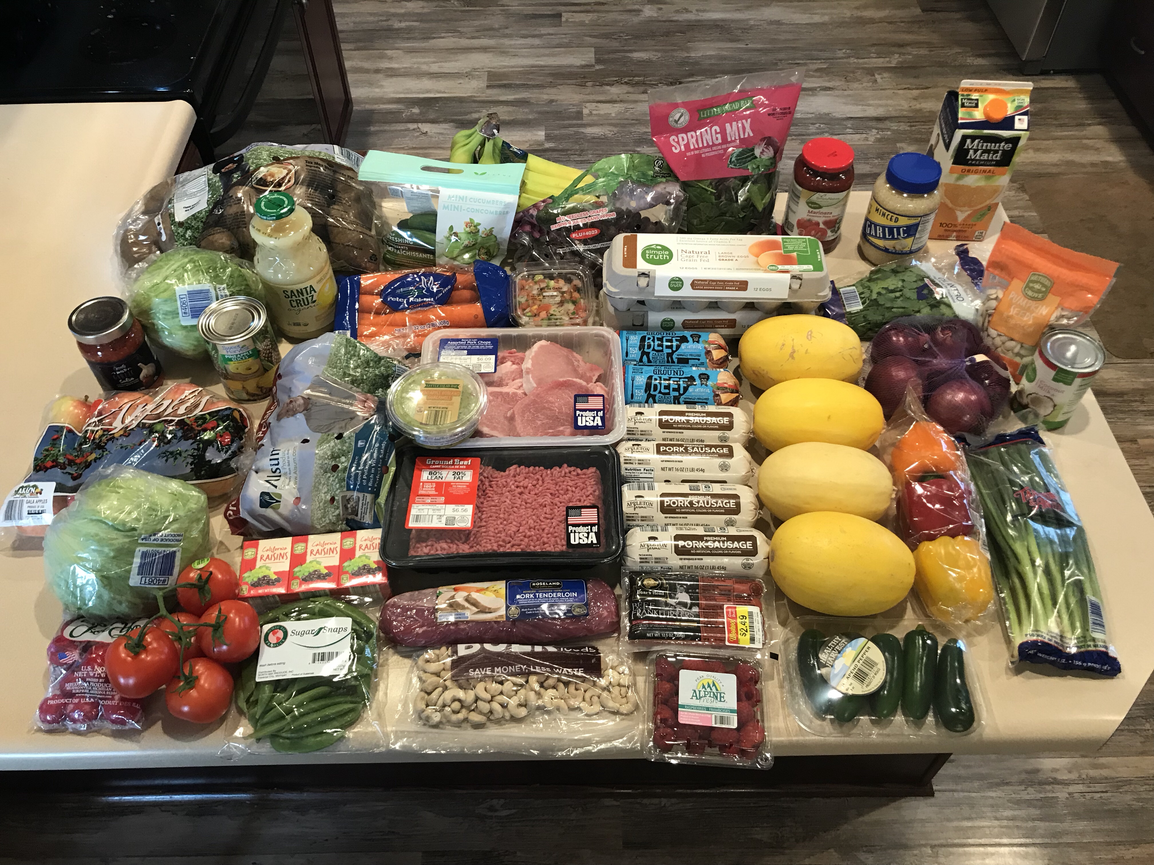 Meal Plan and Grocery List for week of March 11th - Lick